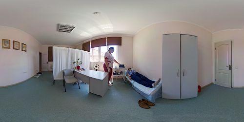 массаж в клинике